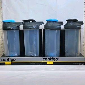 2 Packs of Contigo 28oz 2pk Shake and Go Fit